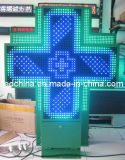 옥외 두 배 직면된 LED 약학 십자가