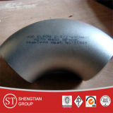 Coude inoxidable de coude des garnitures de pipe Ss304 316