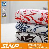 綿のリネンポリエステル青および白い磁器の印刷ファブリック