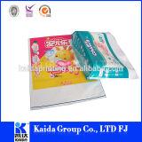 Drucken-Qualität und umweltfreundliche Kunststoffgehäuse-Beutel der Baby-Windeln mit gestempelschnittenem Griff