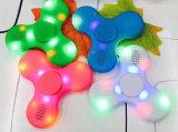 다채로운 LED 세 배 방적공 싱숭생숭함 장난감 608 중심 방위 손 방적공