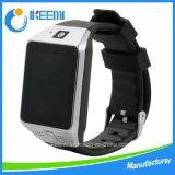 Teléfono móvil del reloj impermeable del GPS
