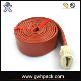 熱い販売の中国の工場によって編まれる絶縁されたガラス繊維の編みこみの袖