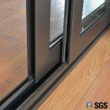 Раздвижная дверь высокого качества алюминиевая, сползая окно, алюминиевое окно, алюминиевое окно, окно K01040