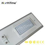 Tutti agli indicatori luminosi di una via solari del LED con la batteria di litio ricaricabile