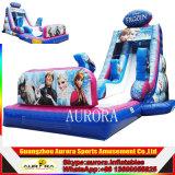Sale caliente Olaf Design Inflatable Frozen Slide para Sale