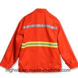 Revestimento elevado da segurança da visibilidade para os trabalhadores da limpeza (C2406)