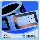 Smart card sem contato programável do espaço em branco RFID NFC do preço do competidor