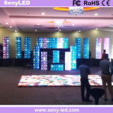 Performance visuelle polychrome annonçant le panneau d'Afficheur LED de mur pour le fond d'étape