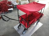 Caminhão portátil de dobramento do carrinho de criança do portador do carro do trole do reboque do carro do vagão