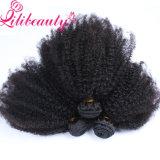 Заплетение Afro Kinky навальное 18 бразильского дюймов утка волос