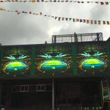 옥외 높은 정의는 주물 내각 P8 발광 다이오드 표시 스크린을 정지한다