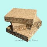 La mélamine en bois de couleur a fait face au panneau de particules pour Construciton et meubles