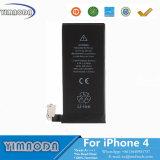 Batterie initiale de téléphone mobile de cycle zéro pour l'iPhone 4 d'Apple
