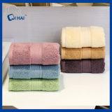 Tovagliolo crema 100% dell'hotel di colore del cotone (QHH5598)