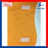 Vestidos baratos do Netball do Bodysuit das mulheres do Sublimation amarelo da cor