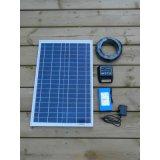 panneau solaire 20W pour le système de d'éclairage solaire