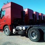 Usando Beiben Weichai motor de 380hp 50 Ton Camión Tractor Cabeza