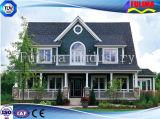 グループの家(FLM-H-019)のための低価格のプレハブの鋼鉄別荘