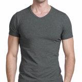 Le plus défunt T-shirt de coton d'hommes de mode pour les hommes