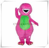 Qualità autentica del dinosauro di baruffe della mascotte viola del personaggio dei cartoni animati