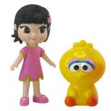 Het beweegbare Speelgoed van het Meisje van Delen Plastic