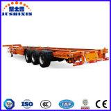 40feet 3 차축 트랙터 해골 또는 골격 대형 트럭 반 실용적인 트레일러
