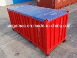ISO証明された真新しい20フィートは柔らか上構成の上の輸送箱を開く