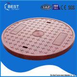 couvertures de trou d'homme rondes de polymère de 700mm BMC avec le traitement