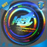 Etiqueta engomada auta-adhesivo olográfica del brillo de la etiqueta engomada/del holograma del laser de la plata de la aduana 3D