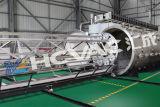 Macchina di rivestimento orizzontale di PVD per lo strato dell'acciaio inossidabile, pianta di rivestimento di PVD