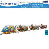 Trem elétrico dos desenhos animados do parque de diversões das crianças (M11-06703)