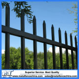 Australien-kommerzieller kundenspezifischer dekorativer Stangen-Oberseite-Stahl-Standardzaun