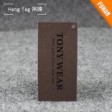 Étiquette du fabriquant de papier d'imprimerie de type de cru de Fashional