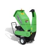 정원 사용 큰 수용량 100mm Loncin 15 HP 가스 기관 나무 슈레더