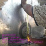 キャリッジが付いている円のログの鋸引きの製材所機械