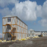 Het prefab Modulaire Huis van de Structuur van het Staal met de Certificatie van Ce