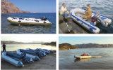 Bateau chaud de divertissement de vente de bateaux matériels de PVC avec la qualité (HSM 2.3m-4.2m)
