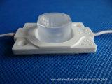 ABSチャネルの印のためのプラスチックカバーLEDモジュール