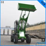 Lader van het Wiel van de Tractor van de Leverancier van de Fabriek van China de Kleine voor Verkoop