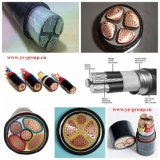 Buena calidad de cobre por cable (de aluminio) XLPE aislado PVC forró el Poder