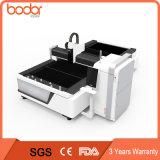 Machine de découpage de laser de fibre de la haute précision 1000W/mini prix de coupeur de laser de commande numérique par ordinateur