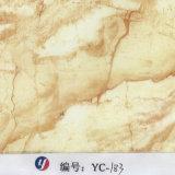Yingcai 1m Breiten-goldener hydrografischer Marmorierungfilm für Dekoration