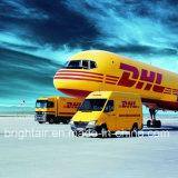 UPS de DHL durant la nuit de la distribution d'expédition de colis exprès de Chine en Argentine, Pérou