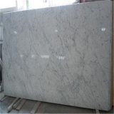 Mattonelle di pavimento Polished Carrara del marmo bianco interno all'ingrosso di Hotsale