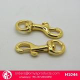 革製バッグのための金の真鍮のホックをよじ登りなさい