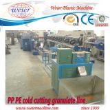 Pp.-PET-ABS Plastik-+ Pigment-Farbe Masterbatch Körnchen-Strang-Pelletisierer-Klammer-Strangpresßling-Maschine