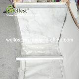 Mattonelle di marmo bianche della Cina per la villa/pavimento hotel/della Camera ed il rivestimento della parete