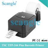 Impresora de la escritura de la etiqueta de código de barras de la impresora del código de barras del CAC 244plus