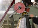 Bolsa de película de burbujas que hace la máquina con la función lateral doble de la cinta